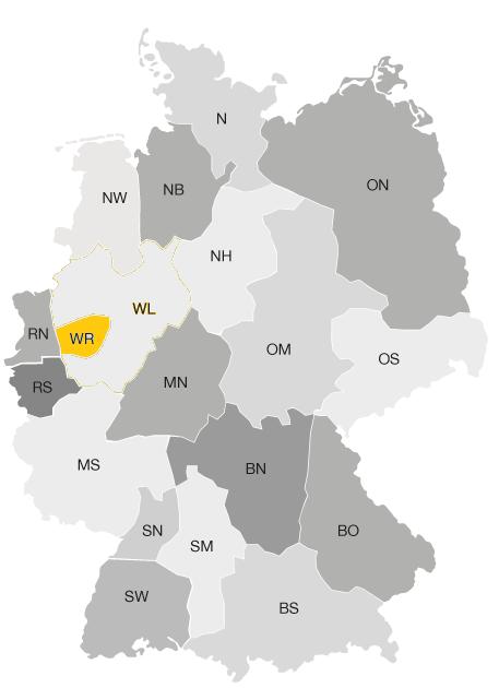 Distrikte Deutschland